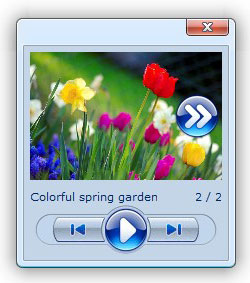 jscript floating image pop up window Colorbox Flash