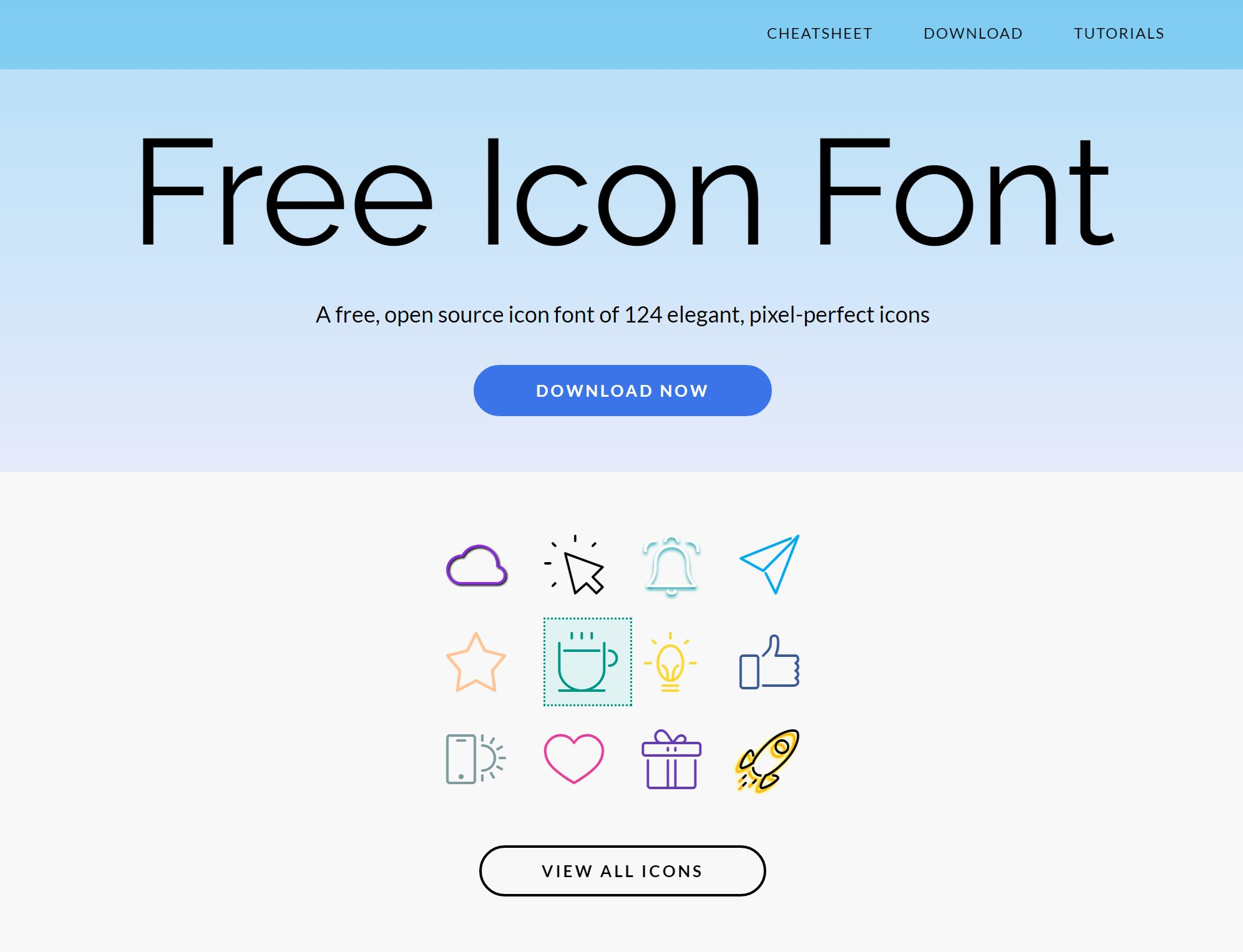 Bootstrap Icon Fonts